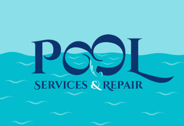 Pool Service & Repair Logo