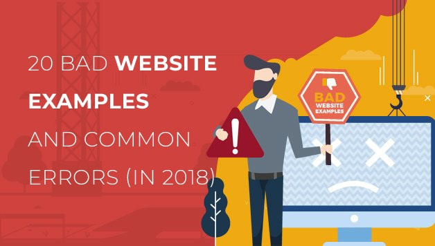 20 Bad Website Examples And Common Errors
